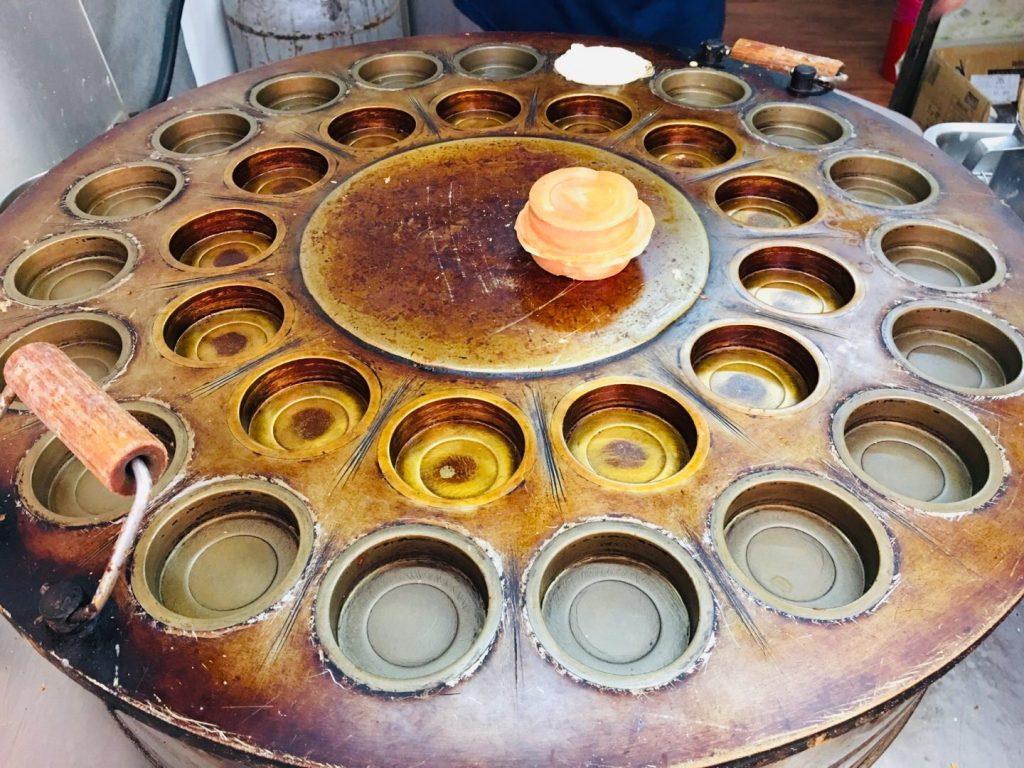 新竹美食。伍師父車輪餅。歷久彌新傳統點心[Miss 飛妮] @Miss 飛妮