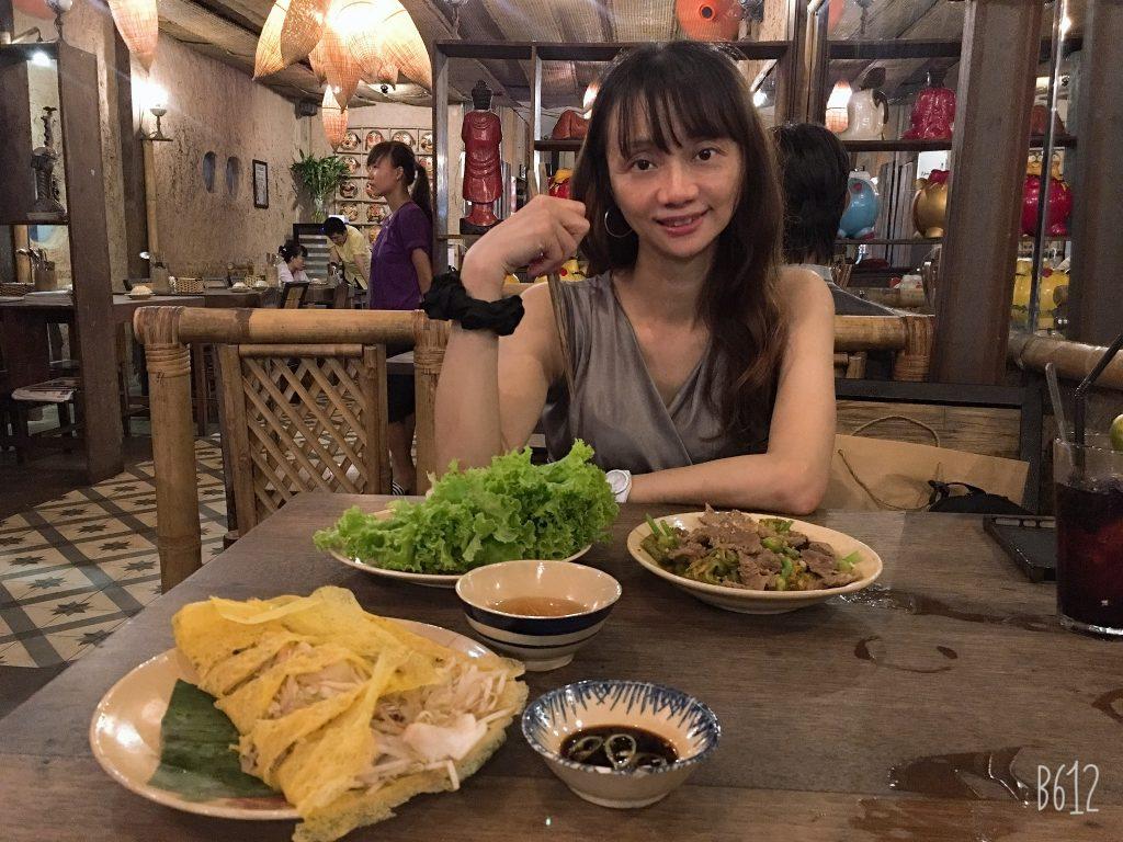 越南美食推薦。胡志明市Mountain Retreat 越南餐廳。七樓屋頂景觀餐廳。[Miss 飛妮] @Miss 飛妮
