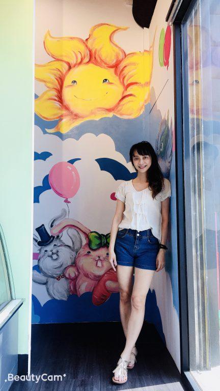 新竹竹北美食。回家趣。友善親子彩繪牆餐廳[Miss 飛妮] @Miss 飛妮
