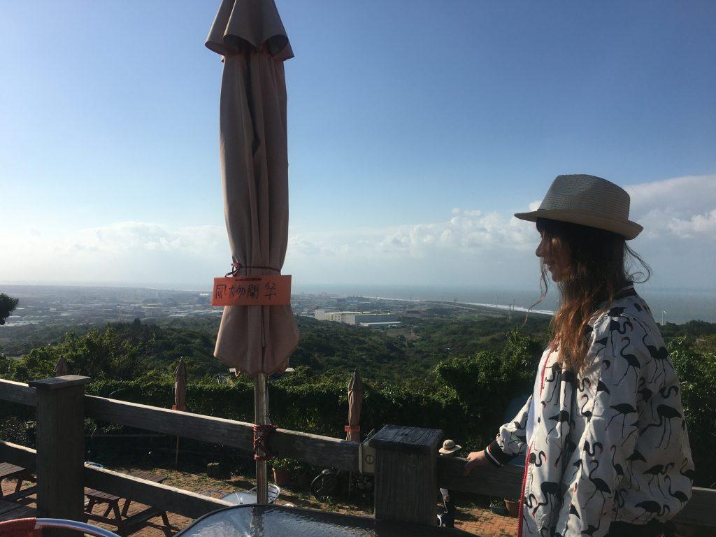 桃園大古山景觀美食。151高地白天景觀賞飛機遠眺海景[Miss 飛妮] @極光公主飛妮