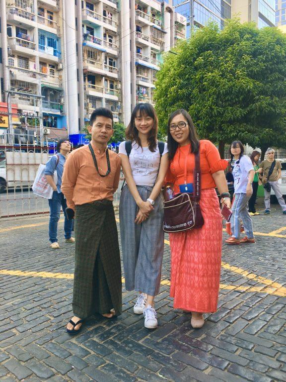 緬甸旅遊。第一天台北~仰光行程概要。翁山市場。大金塔。Wyndham Grand Yangon酒店[Miss飛妮] @Miss 飛妮
