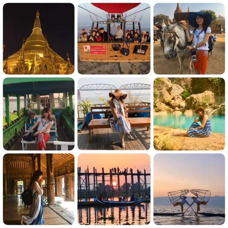 緬甸旅遊。Local tour九天行程分享。緬甸電子簽證。行前準備。簡單緬語。每日遊記。旅行社資訊。仰光-黑河 – 茵萊湖 – 曼德勒- 蒲甘[Miss 飛妮] @Miss 飛妮