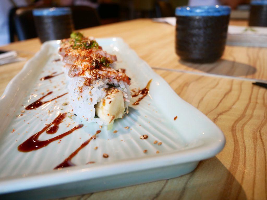 高雄美食。不老壽司五福店。精緻平價壽司。食材新鮮口味創意。交通方便停車便利[Miss飛妮] @Miss 飛妮