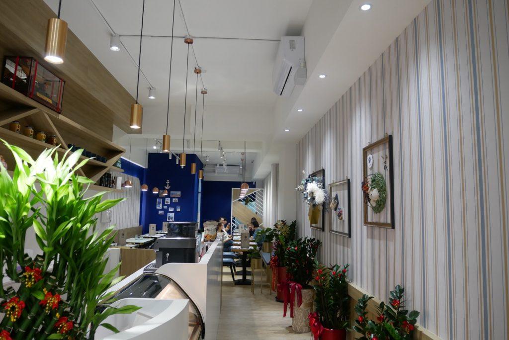 桃園美食。藍白閣Blue&White。同安街的藍白水手風格意式美廚餐廳[Miss飛妮] @Miss 飛妮