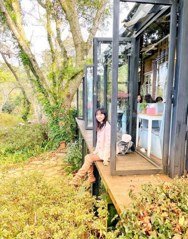 新竹尖石景點美食。紅薔薇景觀餐廳與六號花園一起玩。尖石歐風景觀咖啡廳視覺與超值深山美食味覺饗宴[Miss飛妮] @Miss 飛妮