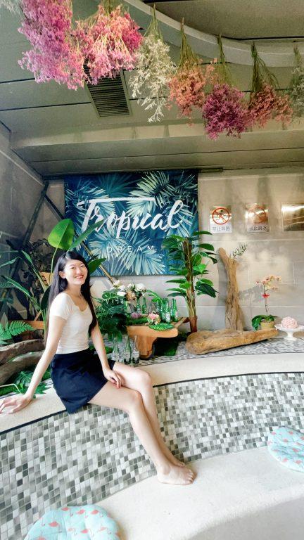 苗栗頭份美食景點。雲朵森林。泳池咖啡輕食。夏日浪漫風與森林系結合美麗山景入眼簾。絕美室內的網美咖啡打卡拍照景點。創意造型輕食[Miss 飛妮] @Miss 飛妮
