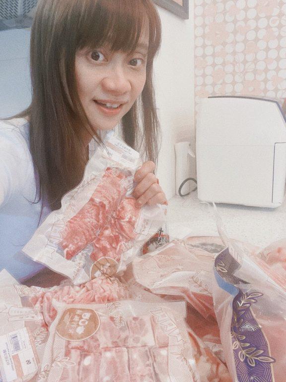 新竹竹北美食。友利鮮舖Friendly Meat。六家五路方便購買肉肉海鮮食材的地方。防疫宅家料理好幫手[Miss飛妮] @極光公主飛妮